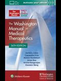 The Washington Manual of Medical Therapeutics Paperback