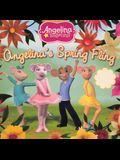 Angelina's Spring Fling (Turtleback School & Library Binding Edition) (Angelina Ballerina)