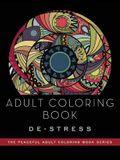 Adult Coloring Book: De-Stress: Adult Coloring Books