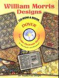 William Morris Designs [With CD-ROM]