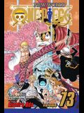 One Piece, Vol. 73, Volume 73: Operation Dressrosa S.O.P.