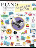 Piano Adventures Sticker Book