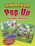 Dinosaur Pop-Up Sticker Scenes