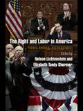 The Right and Labor in America: Politics, Ideology, and Imagination (Politics and Culture in Modern America)