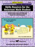 Masterminds Riddle Math for Middle Grades: Skills Boosters for the Reluctant Math Student: Reproducible Skill Builders and Higher Order Thinking Activ