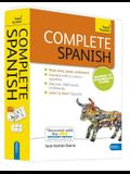 Complete Spanish Beginner to Intermediate Course: Learn to Read, Write, Speak and Understand a New Language [With Paperback Book]