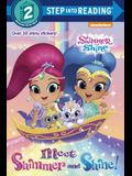 Meet Shimmer and Shine! (Shimmer and Shine) (Step into Reading)