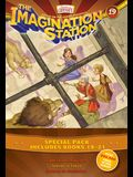 Imagination Station Books 3-Pack: Light in the Lions' Den / Inferno in Tokyo / Madman in Manhattan