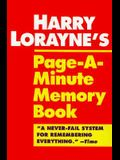 Harry Lorayne's Page-A-Minute Memory Book