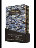 Treasure Island Gift Pack - Lined Notebook & Novel