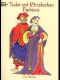 Tudor and Elizabethan Fashions Coloring Book