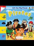 Lift-The-Flap Friends: Pirates