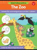 Watch Me Read and Draw: The Zoo: A Step-By-Step Drawing & Story Book