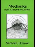 Mechanics from Aristotle to Einstein