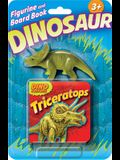 Triceratops Figurine and Board Book
