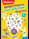 Easter Hidden Pictures Puffy Sticker Playscenes