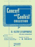 Concert and Contest Collection for Eb Alto Saxophone: Solo Part (Rubank Educational Library)