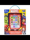 Marvel: 8-Book Library and Electronic Reader [With Electronic Reader]