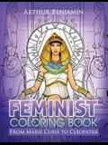Feminist Coloring Book: From Marie Curie to Cleopatra
