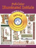 Full-Color Illuminated Initials CD-ROM and Book (Dover Full-Color Electronic Design)