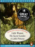 Children's Audio Boxed Set: Little Women, The Secret Garden, A Little Princess
