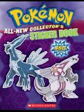 Pokemon All-New Collector's Sticker Book [With Over 450 Stickers]