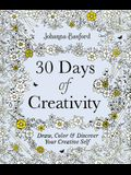 30 Days of Creativity: Draw, Color, and Discover Your Creative Self