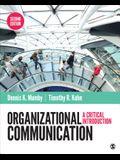 Organizational Communication: A Critical Introduction
