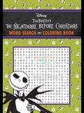 The Nightmare Before Christmas Word Search and Coloring Book