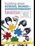 Building Great School Board -- Superintendent Teams: A Systematic Approach to Balancing Roles and Responsibilities