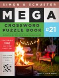 Simon & Schuster Mega Crossword Puzzle Book #21, 21