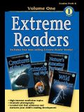 Extreme Readers Grades Prek-K: Volume 1: Animals Day and Night/Creatures of the Deep/Nature's Amazing Partners/Wild Weather