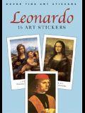 Leonardo: 16 Art Stickers