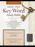 The Hebrew-Greek Key Word Study Bible: ESV Edition, Black Bonded Leather