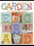 Garden of Letters to Paint