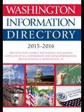 Washington Information Directory 2015-2016