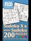 USA TODAY Sudoku X and Mini Sudoku: 200 Puzzles from The Nation's No. 1 Newspaper