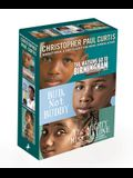 Christopher Paul Curtis 3-Book Boxed Set: The Watsons Go to Birmingham--1963; Bud, Not Buddy; The Mighty Miss Malone