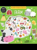 Super Sticker Activity: Farm