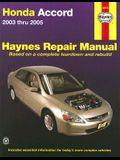 Honda Accord Repair Manual 2003-2005 (Haynes Automotive Repair Manual)