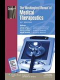 The Washington Manual(r) of Medical Therapeutics