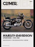 Clymer Harley-Davidson Sportsters 1959-1985: Service, Repair, Maintenance