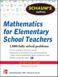 Schaum's Outline of Mathematics for Elementary School Teachers