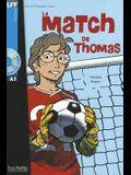Le Match de Thomas + CD Audio (Boyer)