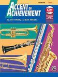 Accent on Achievement, Bk 1: Trombone, Book & CD