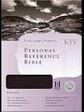 KJV Personal Reference Bible, Black Bonded Leather