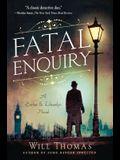 Fatal Enquiry: A Barker & Llewelyn Novel