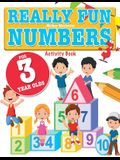 Really Fun Numbers For 3 Year Olds: A fun & educational counting numbers activity book for three year old children
