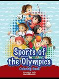 Sports of the Olympics Coloring Book