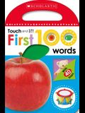 First 100 Words: Scholastic Early Learners (Touch and Lift)